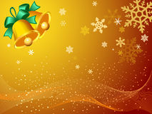 Papier peint de fantaisie de Noël Photos stock