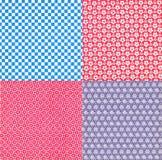 Papier peint de fond d'art ; Rayures de style du Japon, rayures de style de l'Asie images stock