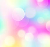 Papier peint de fond de Pâques de tache floue d'arc-en-ciel Photographie stock libre de droits
