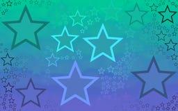 Papier peint de fond produit par étoile abstraite Photographie stock libre de droits