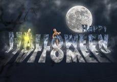 Papier peint de Halloween Image libre de droits