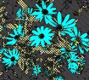 Papier peint de marguerite d'art de bruit Photos libres de droits