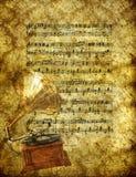 Papier peint de musique illustration de vecteur