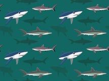 Papier peint 14 de requins illustration libre de droits