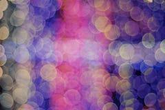Papier peint de tache floue de lentille de Bokeh Image libre de droits
