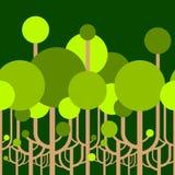 Papier peint des arbres illustration libre de droits