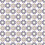 Papier peint floral d'abrégé sur conception d'illustration de vecteur de fond de modèle de tissu de tuile de couverture de fleur Photographie stock