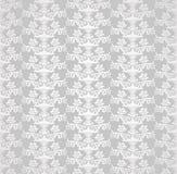 Papier peint floral de style sans couture argenté de victorian Photo libre de droits
