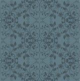 Papier peint floral gris sans joint Illustration Libre de Droits