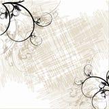 Papier peint floral grunge Image stock