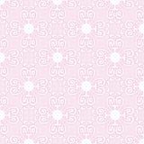 Papier peint floral rose Illustration de Vecteur