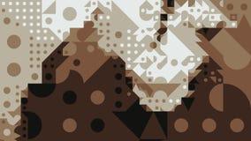 Papier peint géométrique abstrait de fond Photos stock