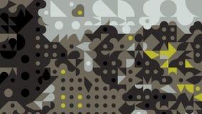 Papier peint géométrique abstrait de fond Photographie stock libre de droits