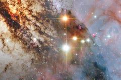 Papier peint, galaxies et nébuleuses de l'espace de la science-fiction dans l'image cosmique impressionnante illustration stock