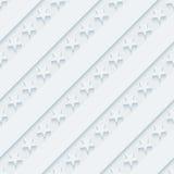 Papier peint gris-clair de bannière étoilée Image libre de droits