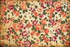 Papier peint grunge de fleur Images stock