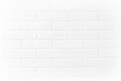 Papier peint horizontal de photo de mur de briques blanc dans la chambre Scandin Photographie stock