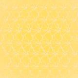 Papier peint jaune abstrait Photographie stock libre de droits