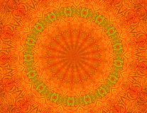 Papier peint orange de fond de batik Photos libres de droits