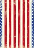 Papier peint patriotique des USA Image libre de droits