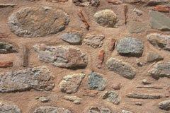 Papier peint plat de détail pourpre de maçonnerie de mur en pierre Images stock