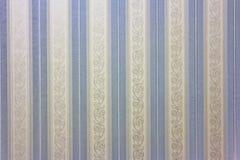 Papier peint rayé bleu Photos stock