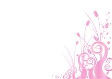 papier peint rose illustration de vecteur