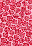 papier peint rose de rouge illustration de vecteur