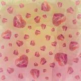 Papier peint rouge de couleur de Tone Heart Water Photos stock