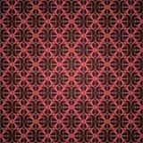 Papier peint rouge sans joint d'ornement Photos libres de droits