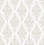 Papier peint royal de damassé Image stock