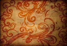 Papier peint sale Image libre de droits