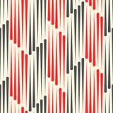 Papier peint sans couture de Chevron Ornement rayé géométrique Photographie stock libre de droits