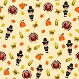 Papier peint sans couture de thanksgiving Photographie stock libre de droits