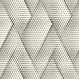 Papier peint sans couture de triangle Dots Graphic Design minimal Photographie stock libre de droits