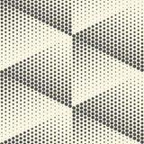 Papier peint sans couture de triangle Dots Graphic Design minimal Images libres de droits