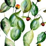 Papier peint sans couture floral Photo stock