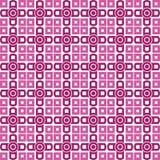 Papier peint sans joint copie répétitive géométrique pourpre Images stock