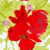 Papier peint sans joint d'été coloré Photographie stock