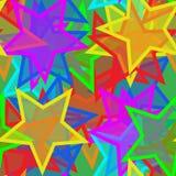 Papier peint sans joint d'étoile illustration stock