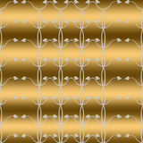 Papier peint sans joint de configuration florale Image stock