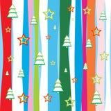 Papier peint sans joint de Noël Photo stock