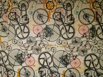 Papier peint sur le mur avec la rayure fanée molle photographie stock