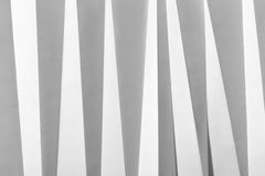 Papier plié par blanc photographie stock libre de droits