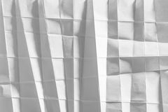 Papier plié par blanc images libres de droits