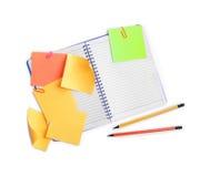 Papier pour des notes image stock