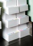 Papier pour la garniture images stock