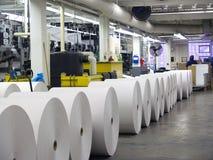 Papier pour la presse, E Images stock