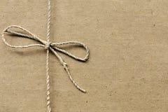 papier przetwarzający sznurek wiążący zdjęcie stock