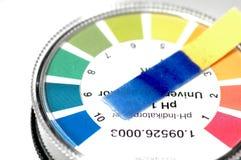 Papier réactif Image libre de droits